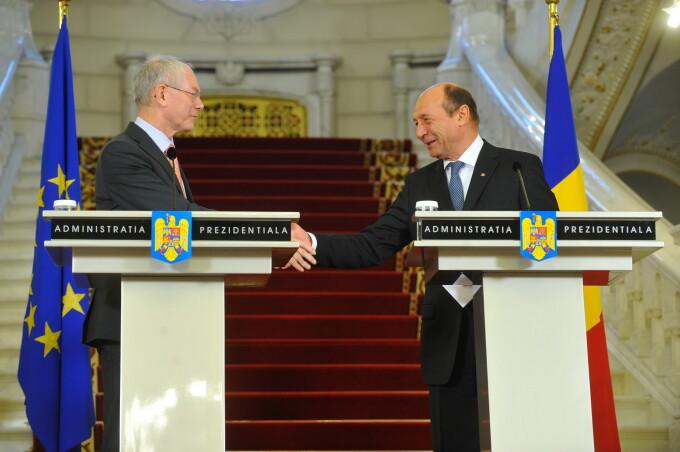 Herman Von Rompuy Basescu