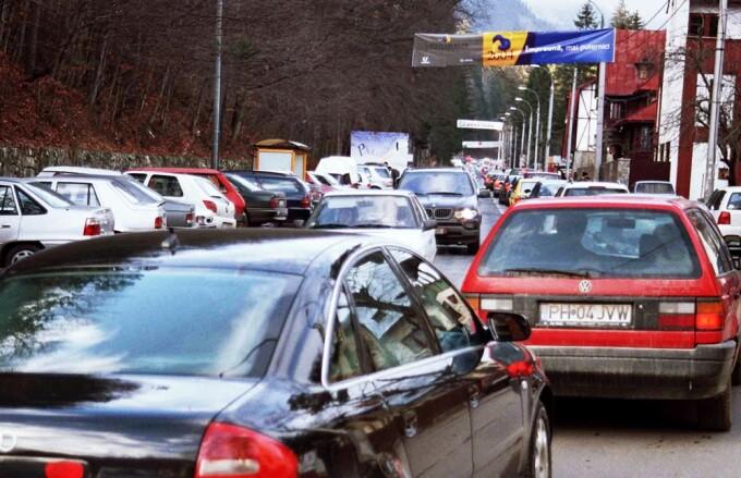 Aglomeratie pe Valea Prahovei