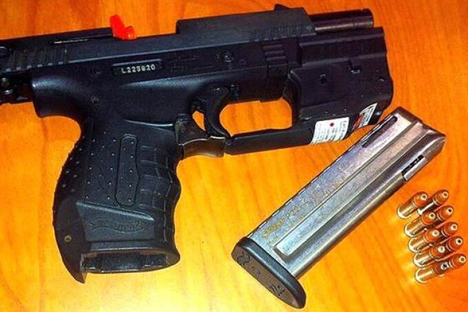 Pistol si munitie