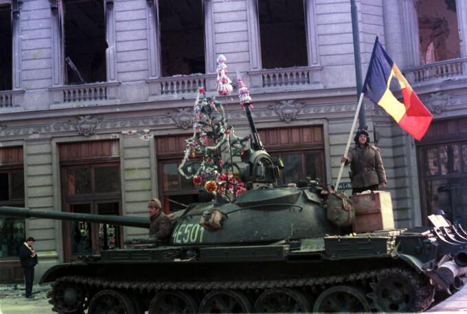 Revolutia din 1989 tanc