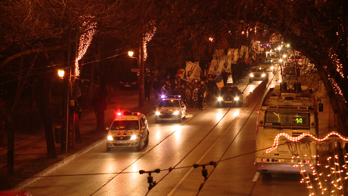 mars pe strazile Timisoarei, Revolutie