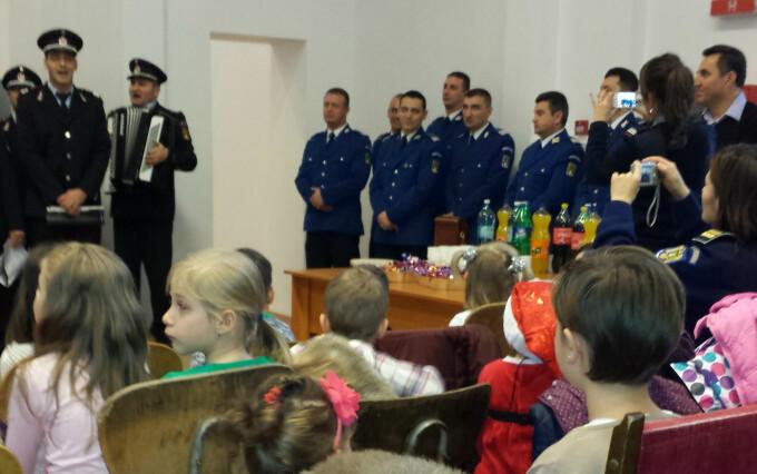 politia de frontiera, copii