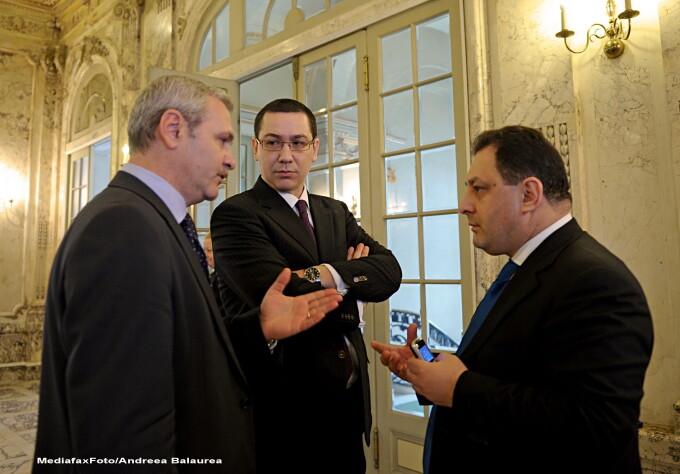 Liviu Dragnea, Victor Ponta, Marian Vanghelie