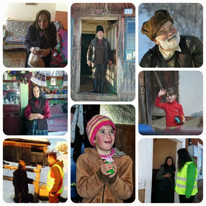 Peste 70 de voluntari au adus bucurii in cele mai izolate catune din Muntii Apuseni