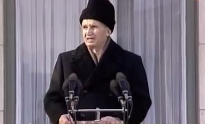 Ceausescu, Revolutie