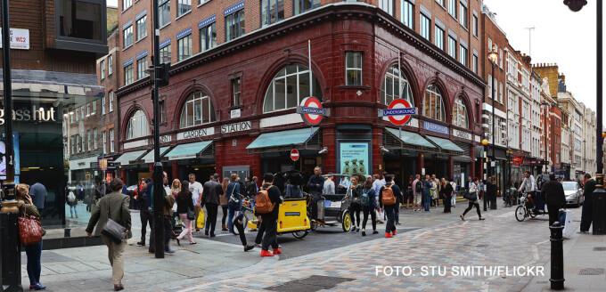 statia de metrou Covent Garden din Londra