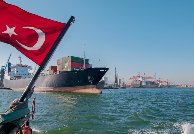 Nava Comerciala turceasca