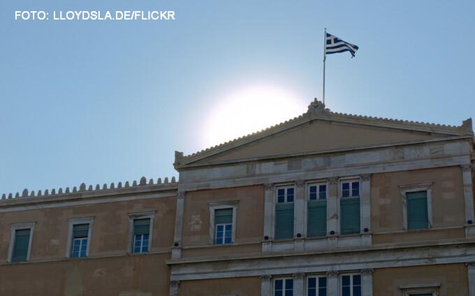 sediul Parlamentului Greciei din Atena