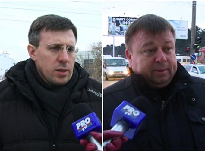 Dorin Chirtoaca si Mihai Carlig