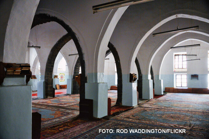 moschee din orasul Ibb, Yemen
