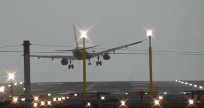 aterizare, aeroport