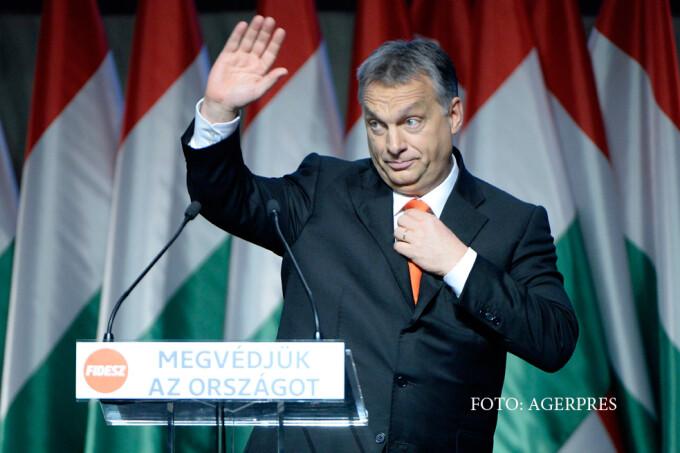 premierul maghiar Viktor Orban