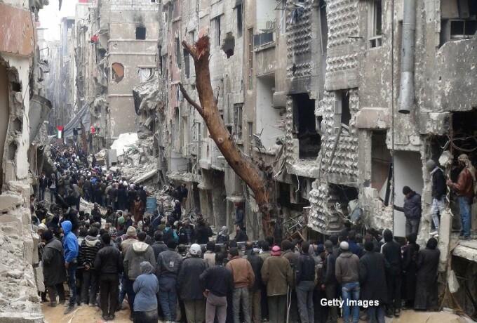 Siria, foamete