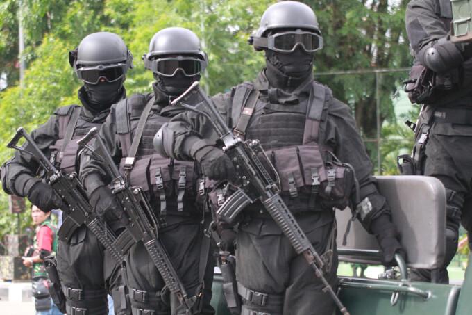 politie Indonezia - GETTY