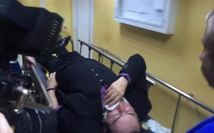 Miron Cozma - accident