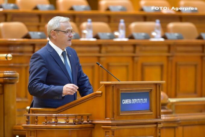 Liviu Dragnea la Camera Deputatilor