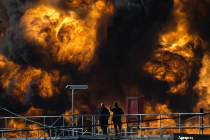 incendiu in Haifa