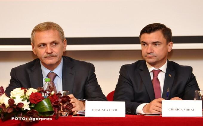 Mihai Chirica, Liviu Dragnea