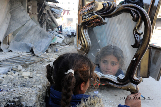 copil din Alep