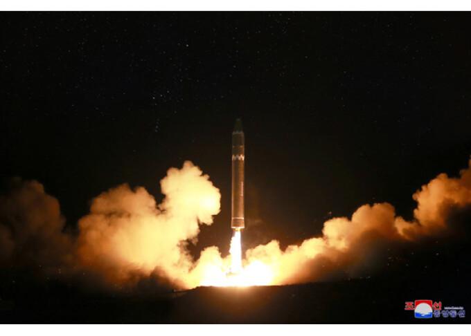lansare racheta nord-coreeana hwasong-15