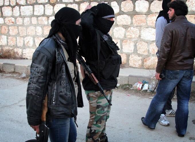 luptatori ISIS in Siria