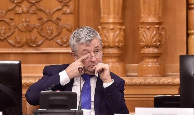 Presedintele comisiei speciale pentru domeniul justitiei, Florin Iordache, participa la lucrarile comisiei, la Palatul Parlamentului
