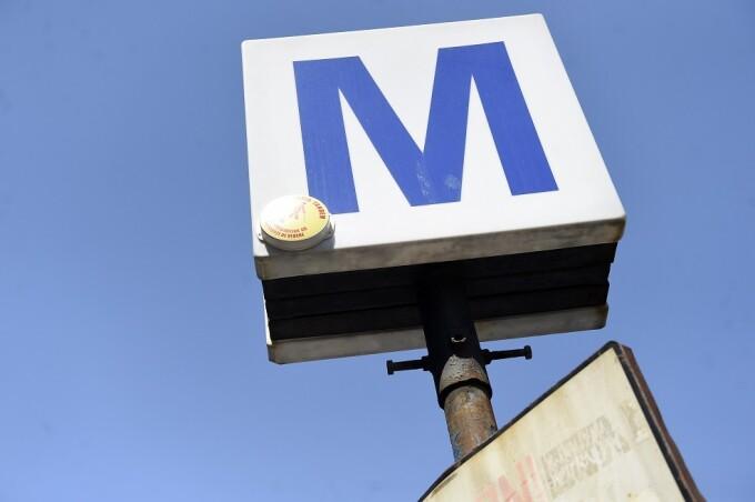 semn metrou bucuresti