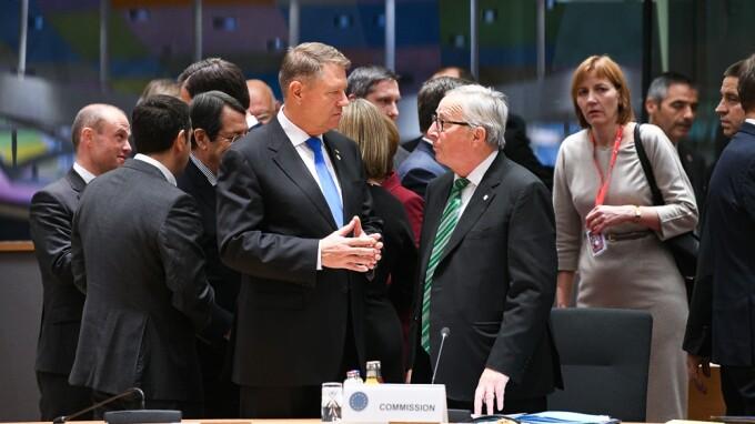 klaus iohannis, summit, euro, bruxelles,