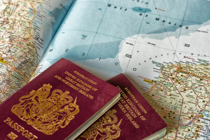 pasaport britanic