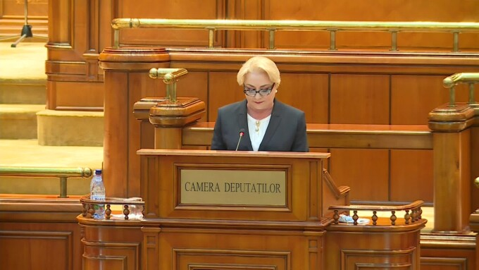 Viorica Dancila, Parlament
