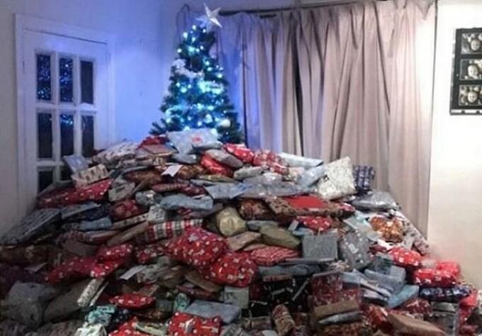 munte de cadouri
