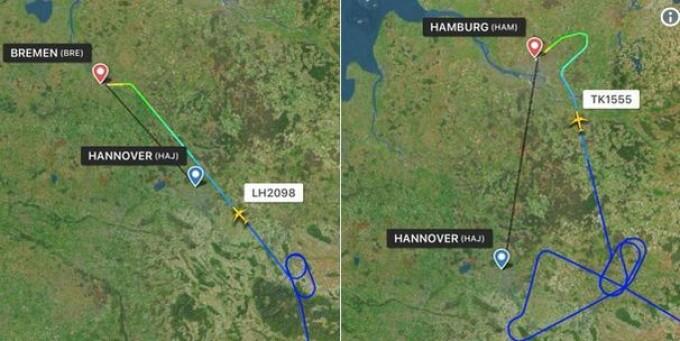 hanovra, aeroport, incident,