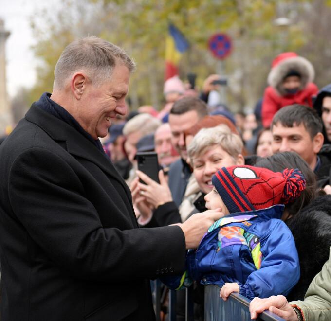 Klaus Iohannis, 1 decembrie - 4