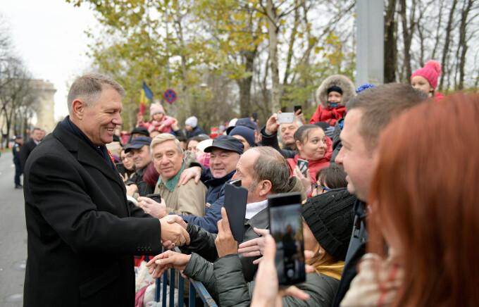 Klaus Iohannis, 1 decembrie - 7