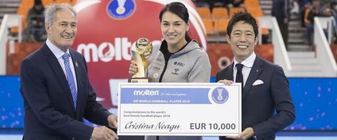 Cristina Neagu, handbal, Japonia