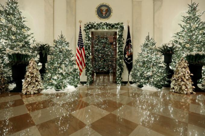 Decor de basm la Casa Albă
