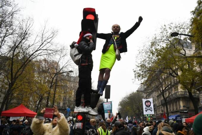 O nouă zi de greve în Franța