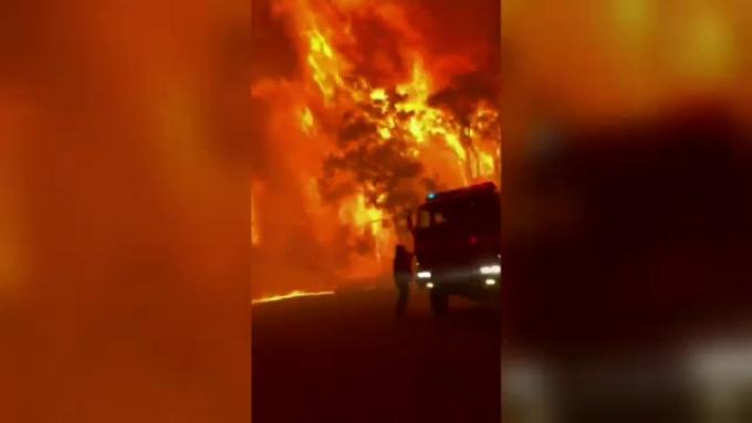 Incendiu in Australia