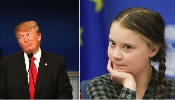 Trump - Greta