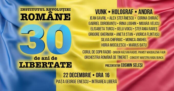 concert 30 de ani Revolutie