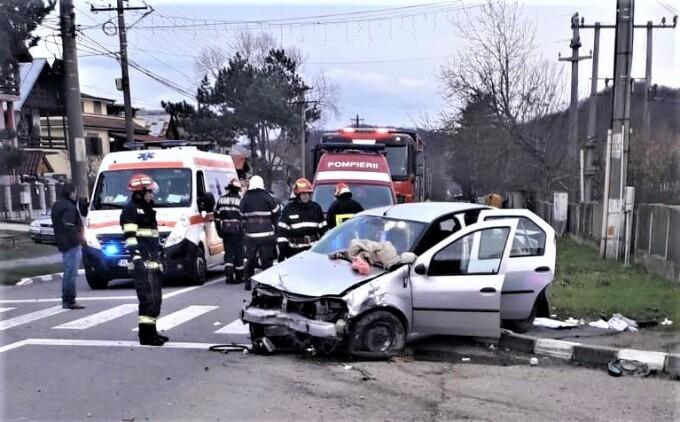 Accident grav la Băile Govora, fetiță de 11 ani în comă
