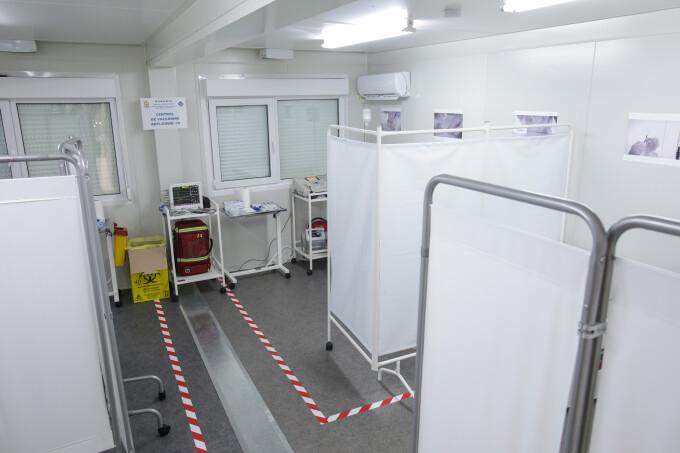 Centrul național de stocare a vaccinului Covid-19