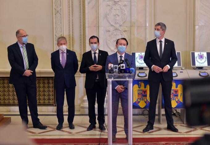 Florin Citu, Ludovic Orban, Dan Barna, Dacian Ciolos, Kelemen Hunor