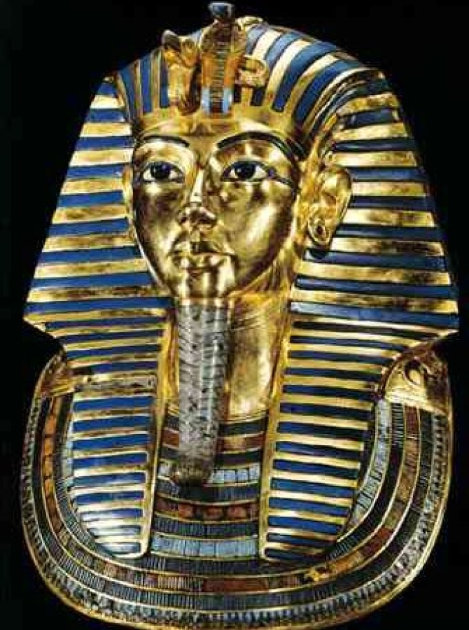 Tutankhamon, Egipt