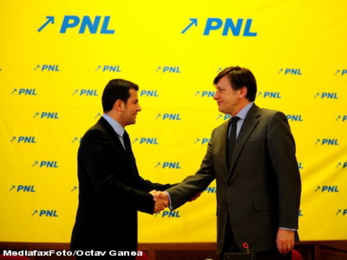 Daniel Constantin si Crin Antonescu