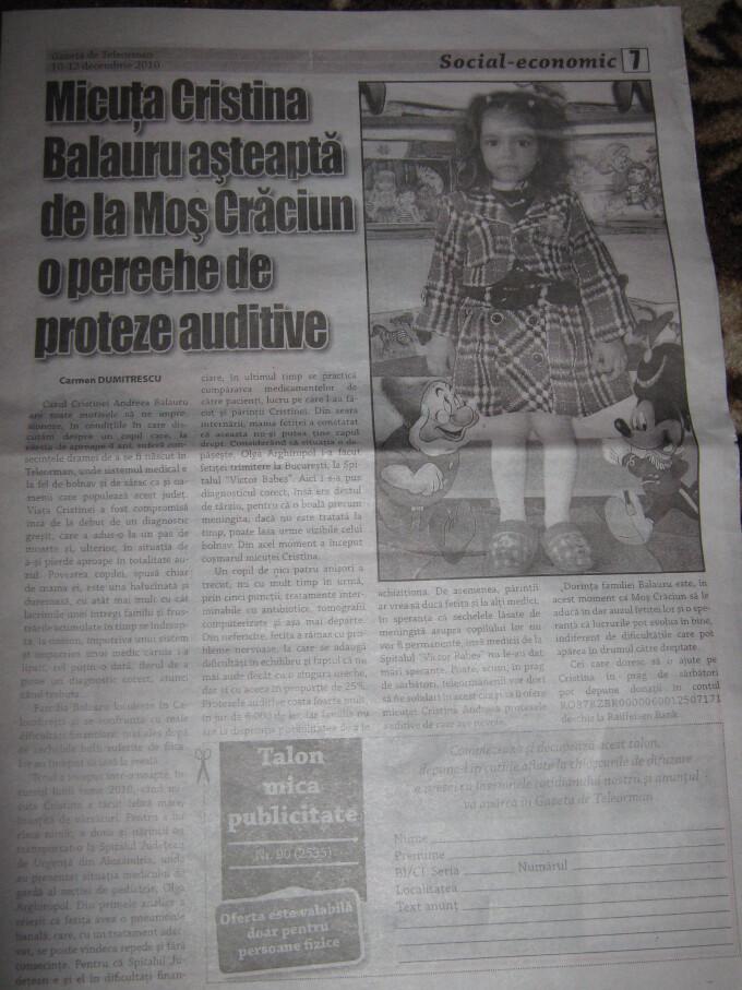 Cristina Balauru