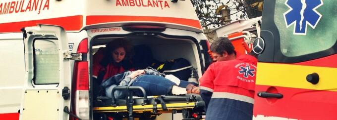 Ambulanta, SMURD, victime, raniti
