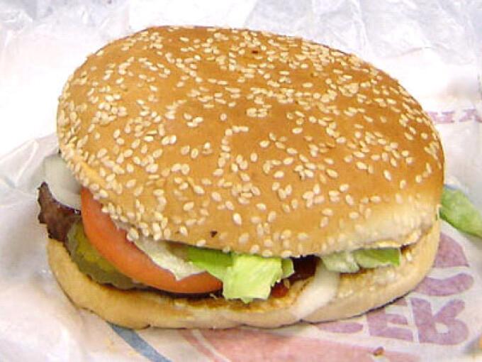 Burger King, hamburger