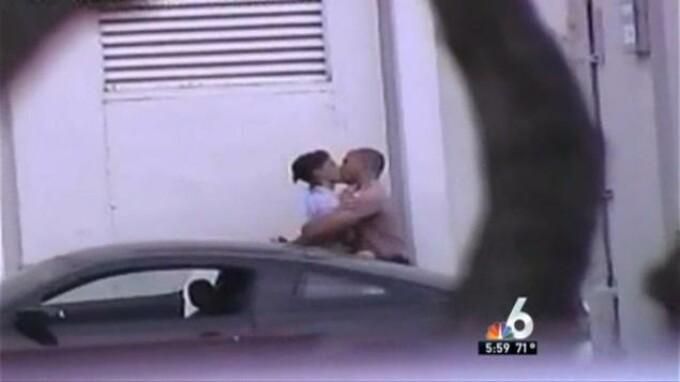 politist filmat cu camera ascunsa