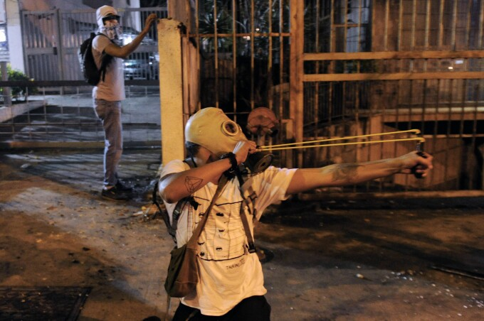 Proteste ale studentilor, in Venezuela